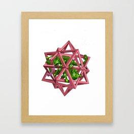 color me m.c. cubed! Framed Art Print