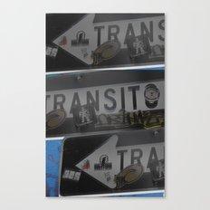 trans trans transito Canvas Print