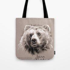 Bear (BornInNature) Tote Bag