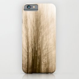 Creepy forest iPhone Case