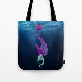 OPEN OCEAN Tote Bag