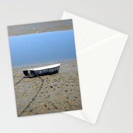 Rowing Boat on the Mudflats Stationery Cards
