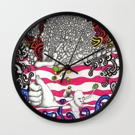 Prosthetic Sea Wall Clock