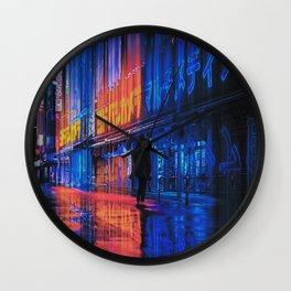 Electric Vision Wall Clock