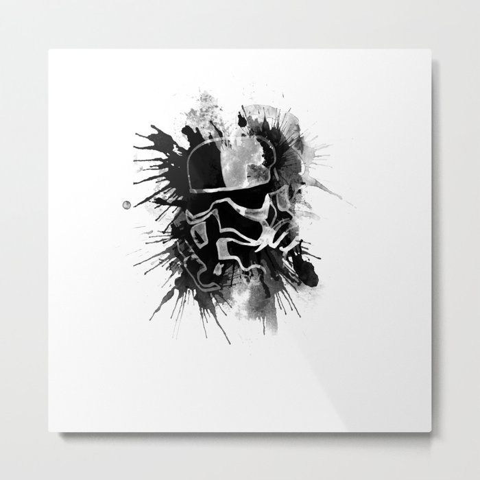 Storm Trooper (white) - Star Wars Metal Print
