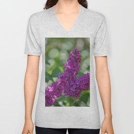 Lilac scent in the spring Unisex V-Neck
