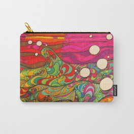 Psychedelic Art Carry-All Pouch
