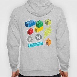 Colourful Building Blocks Hoody