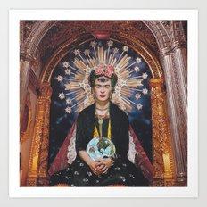 Mother Frida Art Print