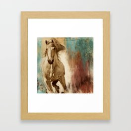 Loyal Steed Framed Art Print