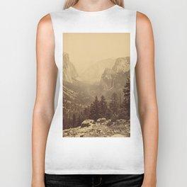 Yosemite Valley from Inspiration Point Biker Tank