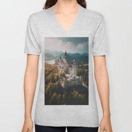 Magical Castle Unisex V-Neck