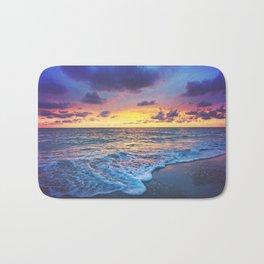 Sunset Foam Bath Mat