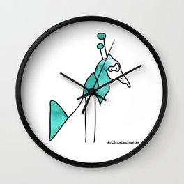 #2animalwesee Wall Clock