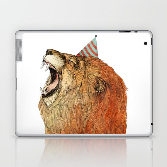 Birthday Lion Laptop & iPad Skin