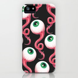 EYES ALL OVER iPhone Case