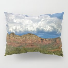 Monsoon Clouds over Sedona by Reay of Light Photography Pillow Sham