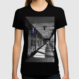 Summer in Bologna Black an White Street Photography T-shirt