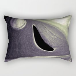 Cheese Plant Abstract Rectangular Pillow