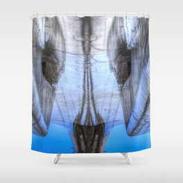 Concorde Abstract Shower Curtain
