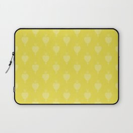 Hearts and Arrows - Blazing Yellow Laptop Sleeve