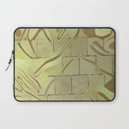 Walled Wild Pattern Laptop Sleeve