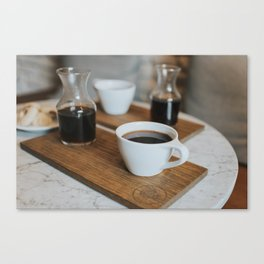 Coffee Print Canvas Print