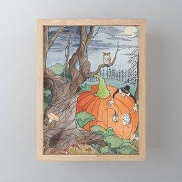 Peter the Pumpkin Eater Framed Mini Art Print