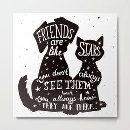 Pet Quote Metal Print