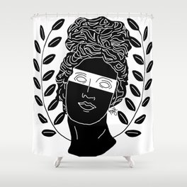 The Muse Shower Curtain
