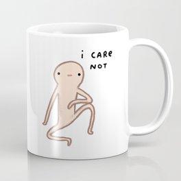 Honest Blob Cares Not Coffee Mug