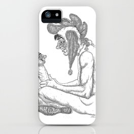 The Defamation of Normal Rockwell I (NSFW) iPhone Case