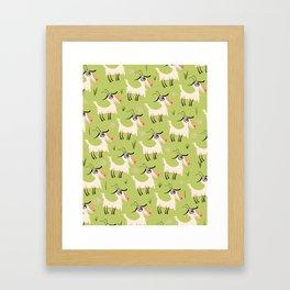 Goats Framed Art Print