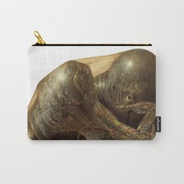 Humanoid Creature Carry-All Pouch