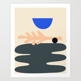 Shape study #15 - Stackable Collection Art Print