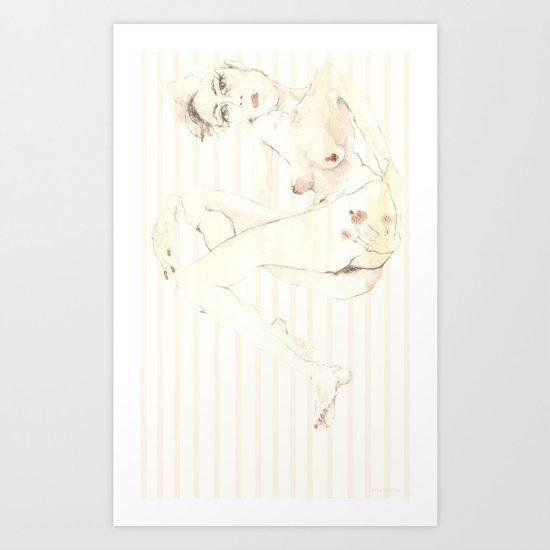 Nude 5 Art Print