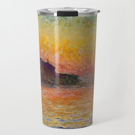 San Giorgio Maggiore by Twilight by Claude Monet Travel Mug
