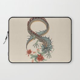 Botanical Flower Dragon 8 Laptop Sleeve