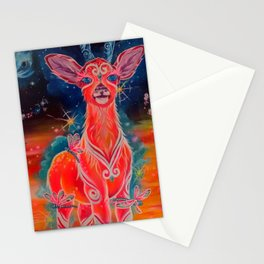 cerbiatto cosmico Stationery Cards