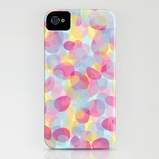 Pebbles Pink iPhone (4, 4s) Slim Case
