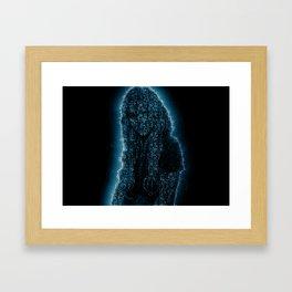 Splash Girl Framed Art Print