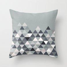 Nordic Combination 25 Throw Pillow