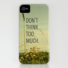 Travel Like A Bird Without a Care Slim Case iPhone (4, 4s)