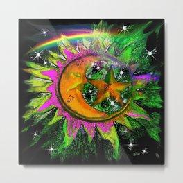 Celestial Wonder Metal Print