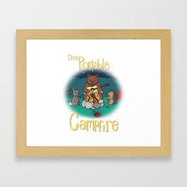The Portable Campfire 01 Framed Art Print