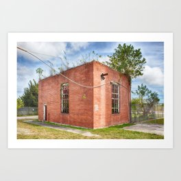 Abandoned Brick Building #6 Art Print