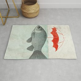 Umbrella Goldfish Rug