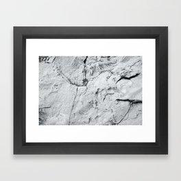 Old Stone Wall VI Framed Art Print
