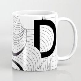 History of Art in Black and White. Postmodern Coffee Mug