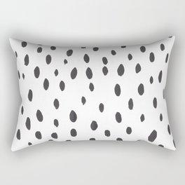 brushstrokes Rectangular Pillow